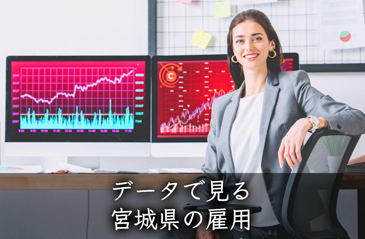 データで見る宮城県の雇用